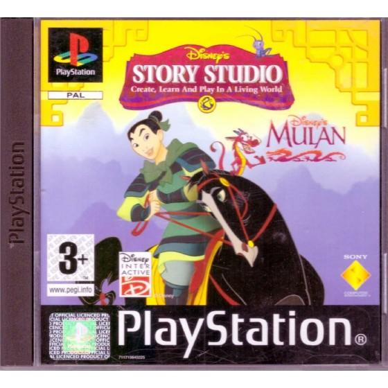 Disney's Story Studio Mulan - PS1