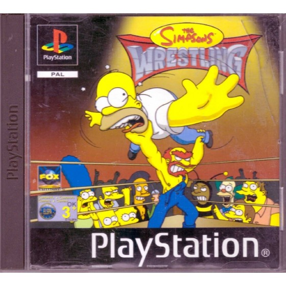 The Simpsons Wrestling - PS1