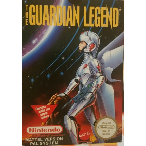 The Guardian Legend - NES