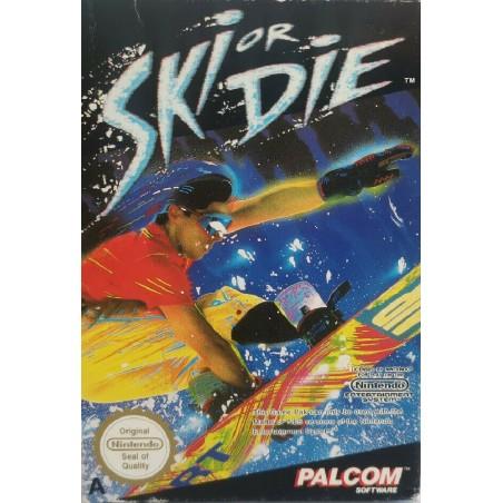 Ski or Die - NES