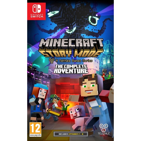Minecraft: Story Mode - The Complete Adventure - Switch