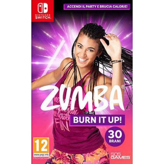 ZUMBA Burn It Up! - Preorder Switch - The Gamebusters
