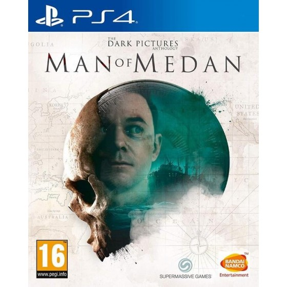 The Dark Pictures Anthology: Man of Medan - PS4 usato