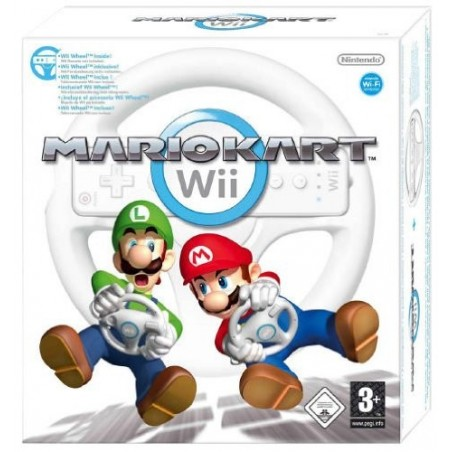 Mario Kart Wii + Volante - Wii