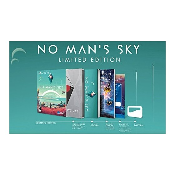 No Man's Sky - Limited Edition - PS4 usato