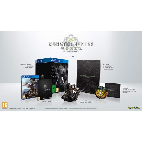 Monster Hunter World - Collector's Edition - PS4