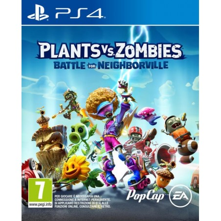 Plants VS Zombies: Battle For Neighborville - Preorder PS4 - The Gamebusters