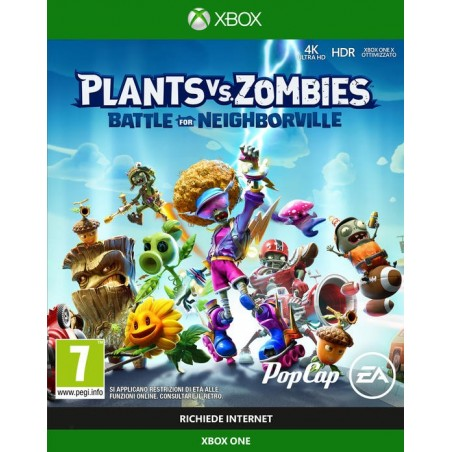Plants VS Zombies: Battle For Neighborville - Preorder Xbox One- The Gamebusters
