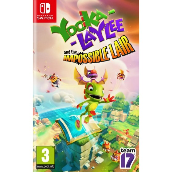 Yooka - Laylee And The Impossible Lair - Switch
