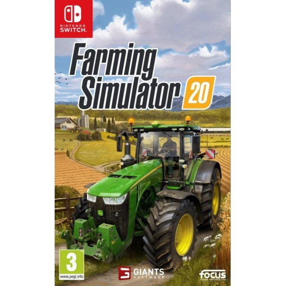 Farming Simulator 20 - Preorder Switch - The Gamebusters