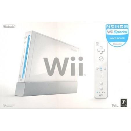 Console Nintendo Wii - Bianca - Retrocompatibile - Usato