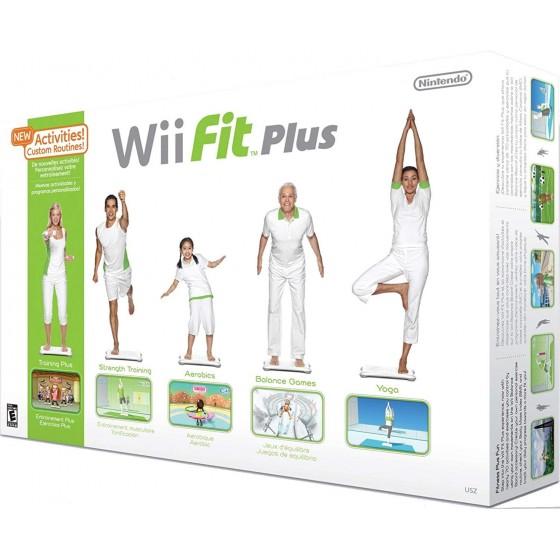 Wii Fit Plus + Balance Board - Wii usato
