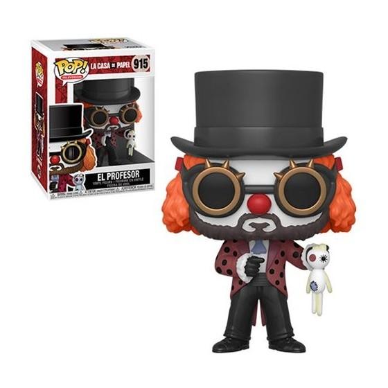 Funko Pop! - Il Professore Clown (915) - La Casa De Papel - Preorder