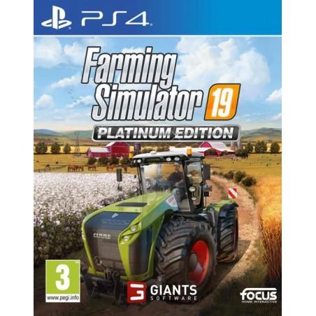 Farming Simulator 19 - Platinum Edition - PS4