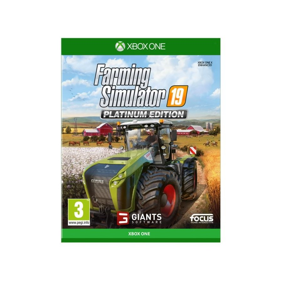 Farming Simulator 19 - Platinum Edition - Preorder Xbox One- The Gamebusters