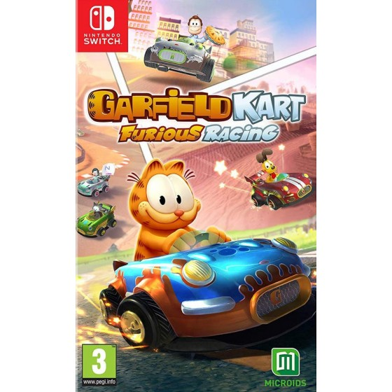 Garfield Kart - Furious Racing - Preorder Switch - The Gamebusters