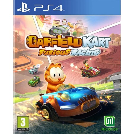 Garfield Kart - Furious Racing - Preorder PS4 - The Gamebusters