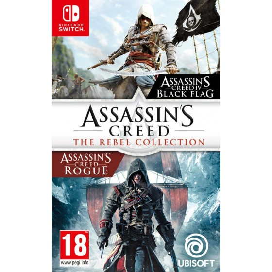 Assassin's Creed : The Rebel Collection - Preorder Switch - The Gamebusters