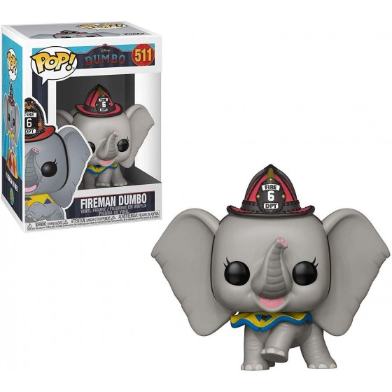 Funko Pop! - Fireman Dumbo (511) - Dumbo