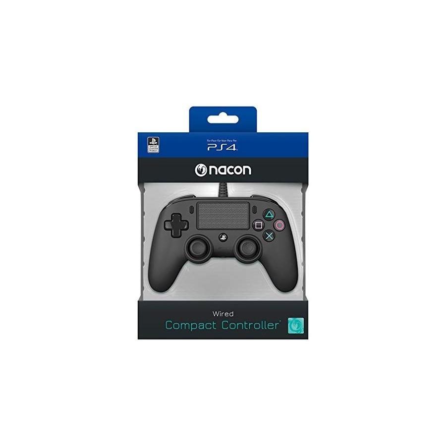 Controller Nacon Compact - Nero - PS4