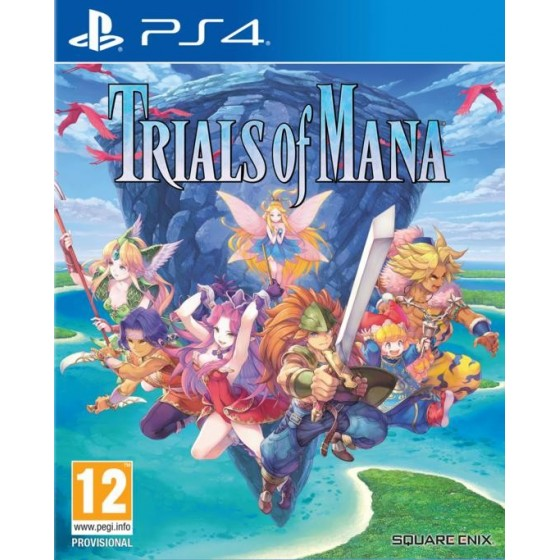 Trials of Mana - Preorder PS4 - The Gamebusters