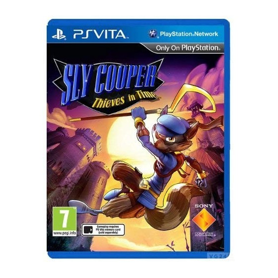 Sly Cooper: Ladri nel Tempo - PSVita