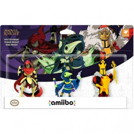 Nintendo Amiibo - Shovel Knight Tri-Pack SET 3 - Shovel Knight - Preorder