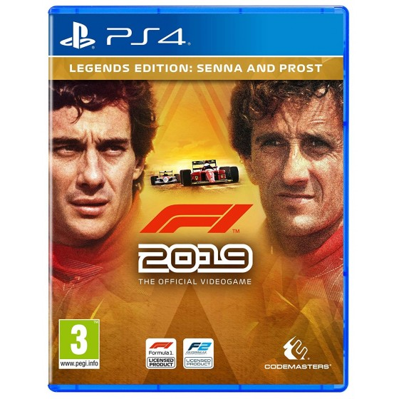 F1 2019 Legends Edition - PS4