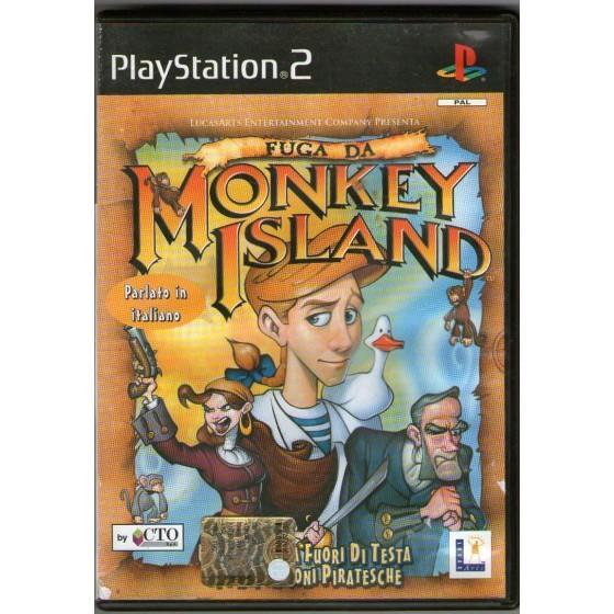 Fuga Da Monkey Island - PS2