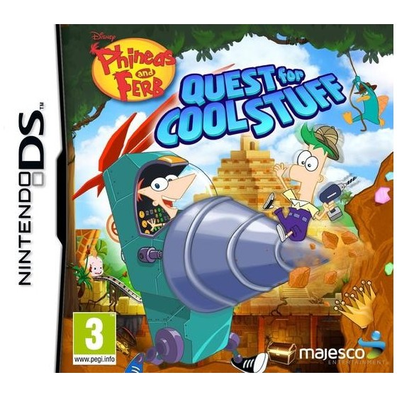 Phineas & Ferb: Quest for Cool Stuff - DS