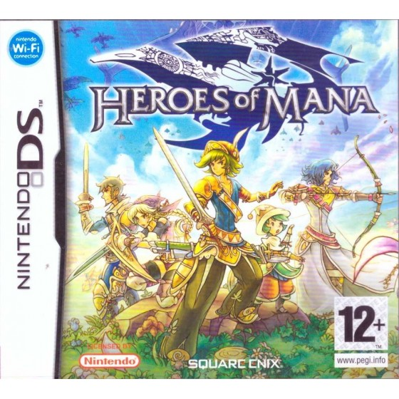 Heroes of Mana - DS