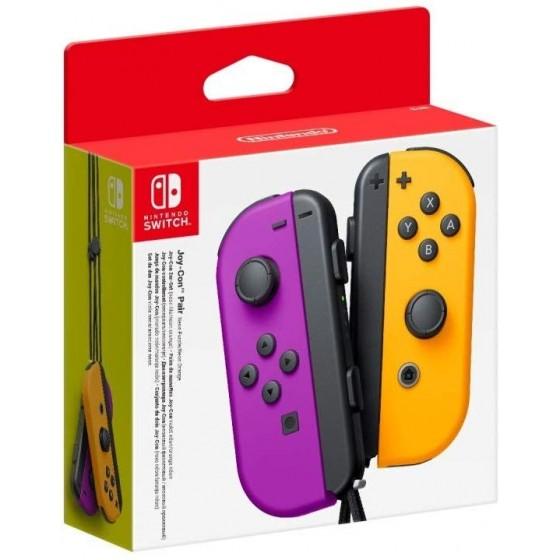 Joy-Con Controller Set Neon Viola/Arancione - Switch