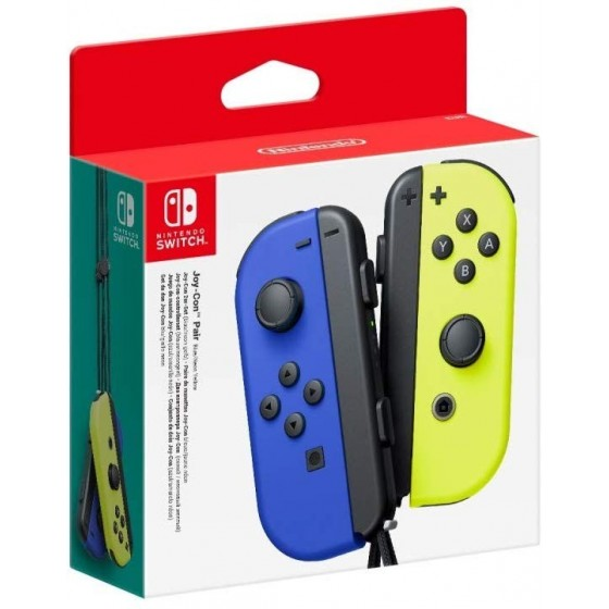 Joy-Con Controller Set Neon Blu/Giallo - Switch