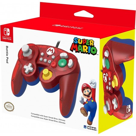 Controller GameCube HORI Mario- Switch
