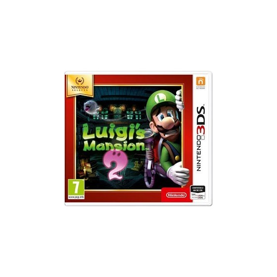 Luigi's Mansion 2 - Selects - 3DS