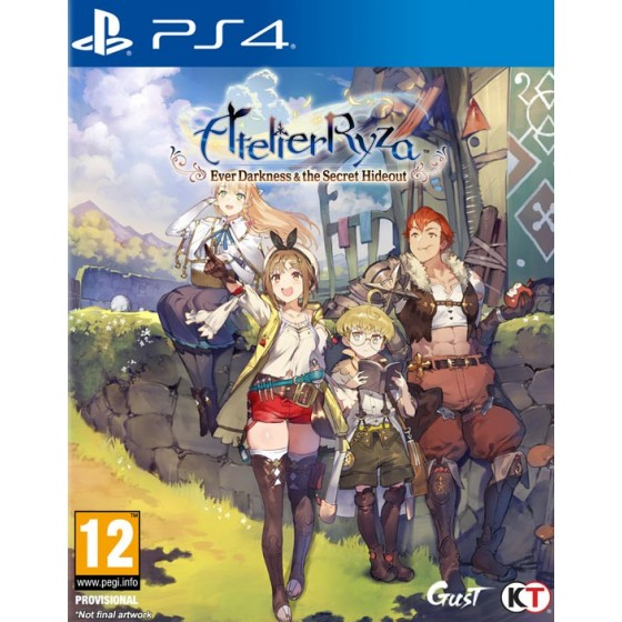 Atelier Ryza: Ever Darkness & the Secret Hideout - Preorder PS4 - The Gamebusters
