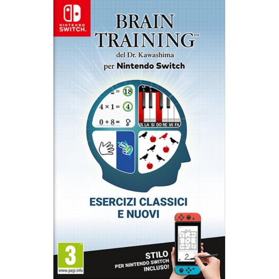 Brain Training del Dr. Kawashima per Nintendo Switch  - Preorder Switch - The Gamebusters