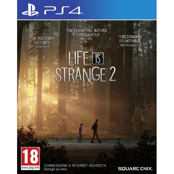 Life is Strange 2 - Preorder PS4 - The Gamebusters