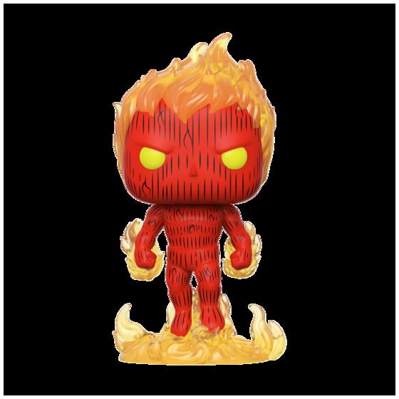 Funko Pop! - Human Torch - Fantastic Four - Preorder