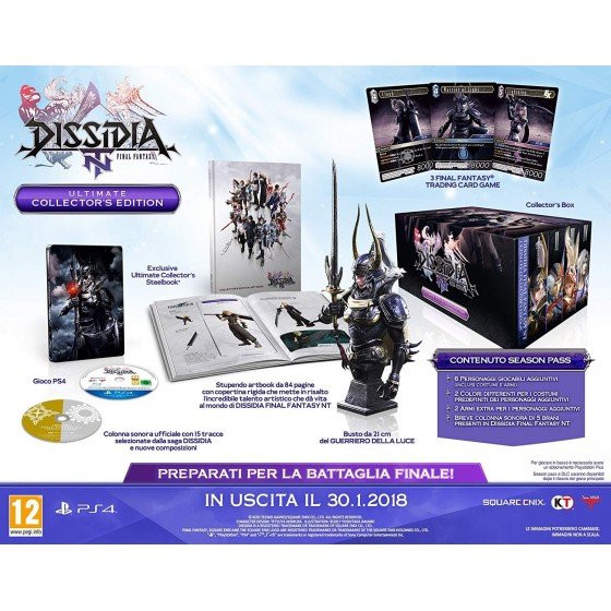 Dissidia Final Fantasy NT - Ultimate Collector's Edition - PS4