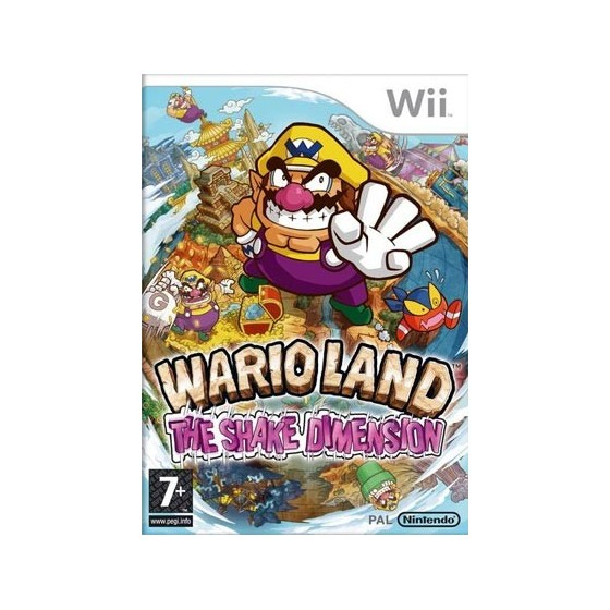 Wario Land The Shake Dimension - Wii