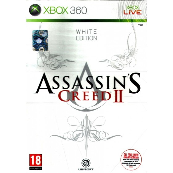 Assassin's Creed II - White Edition - Xbox 360 usato