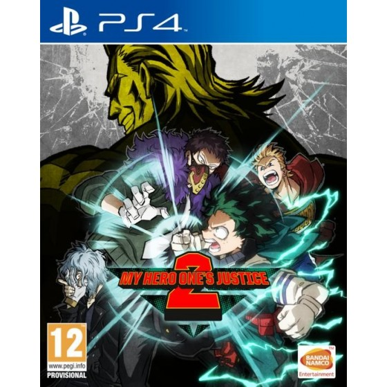 My Hero One's Justice 2 - Preorder PS4 - The Gamebusters