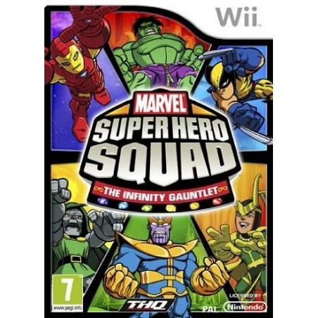 Marvel Super Hero Squad The Infinity Gauntlet - Wii