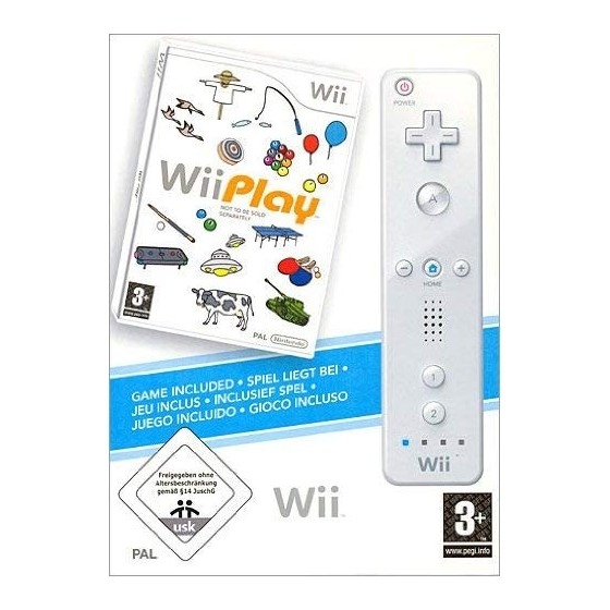 Wii Play + Wii Remote - Wii