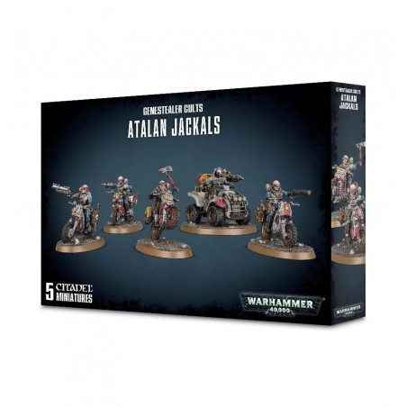 Warhammer 40.000 - Atalan Jackals - The Gamebusters