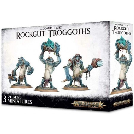 Warhammer Age of Sigmar - Rockgut Troggoths - The Gamebusters
