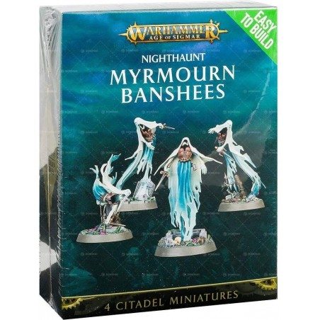 Warhammer Age of Sigmar - Myrmourn Banshees - The Gamebusters