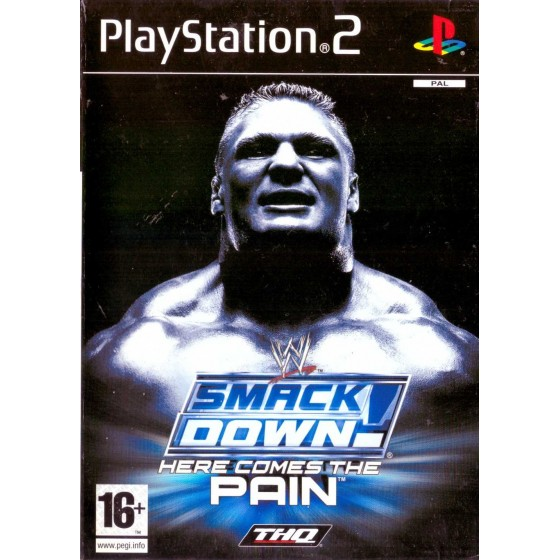 WWE Smackdown Here Comes The Pain - PS2