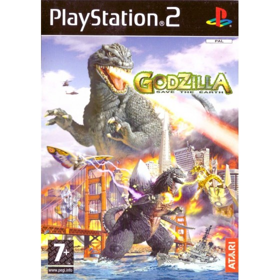 Godzilla Save The Earth - PS2